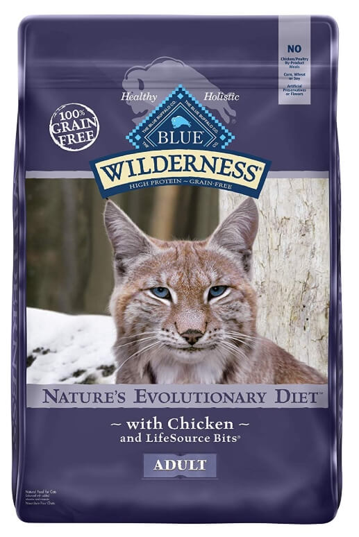 Best Dry Cat Food For Senior Cats - Blue Wilderness
