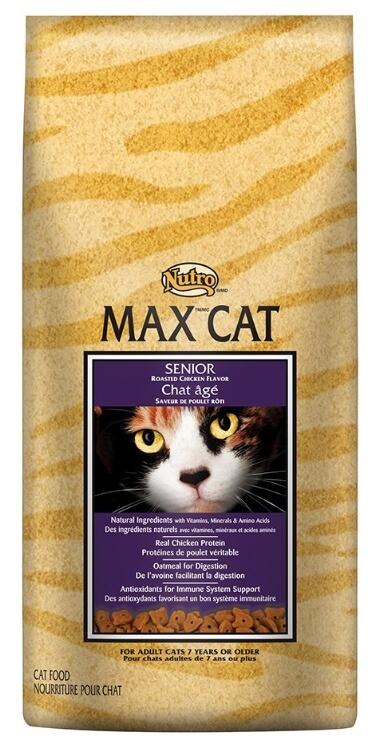 Best Dry Cat Food For Senior Cats - Nutro Max