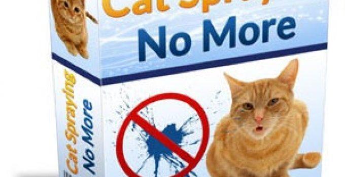 Cat Spraying No More Review - Box Shot