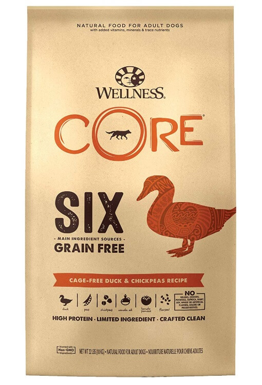 Best Dog Food For French Bulldogs - Wellness Core Grain Free