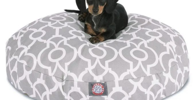 Majestic Pet Round Dog Bed 1