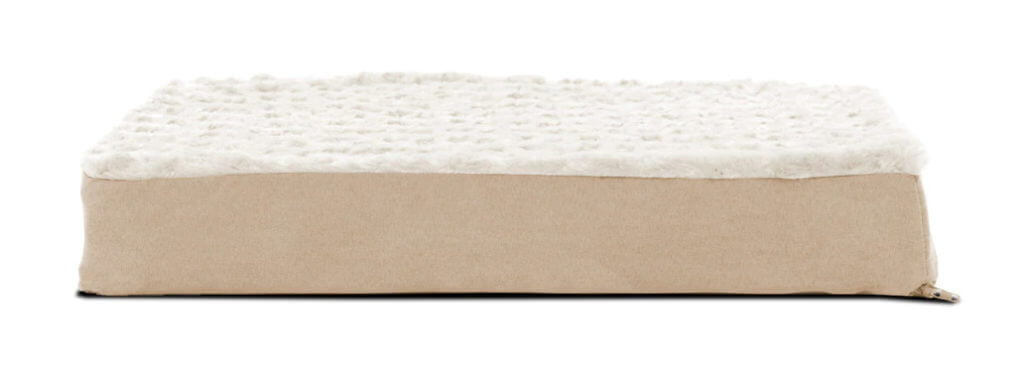 FurHaven Ultra-Plush Deluxe Mattress Bed - Side View
