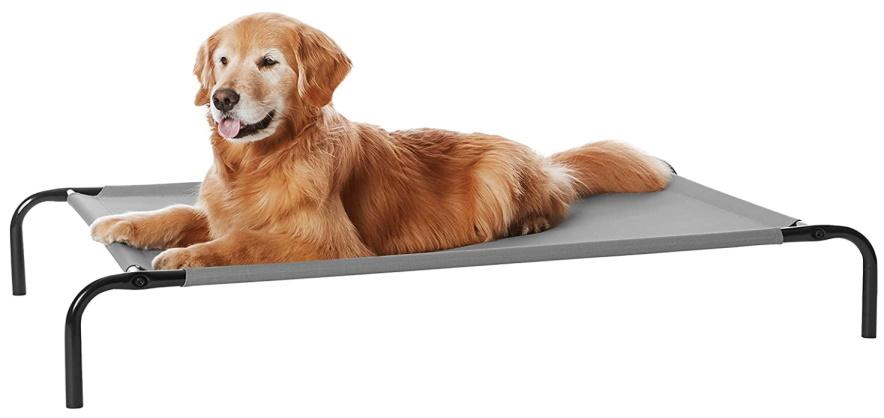 Amazon Basics Elevated Cooling Pet Bed