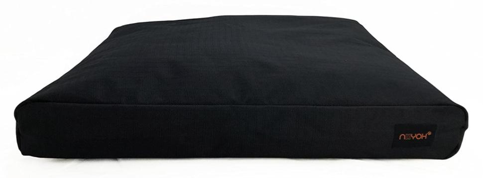 NIIYOH Mighty Orthopedic Dog Bed, Black