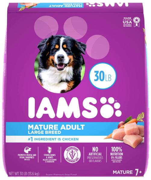 IAMS Chicken Premium Senior Dry Dog Food