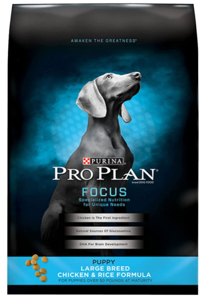Purina Pro Plan Large Breed Puppy Dry Dog Food